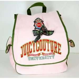 University Backpack Travel Bag School Pink/Green