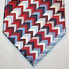 JOHNSTON MURPHY BURGUNDY RED BLUE WHITE SILK NECK TIE
