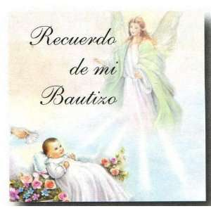Mini Remembrances Cards in Spanish   Guardian Angel, 1.5 x 2.5