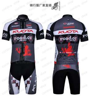 2011 KUOTA Bike Cycling Jersey & Bib Shorts Set 6 sizes