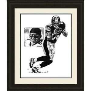 Pittsburgh Steelers Framed Hines Ward Pittsburgh Steelers