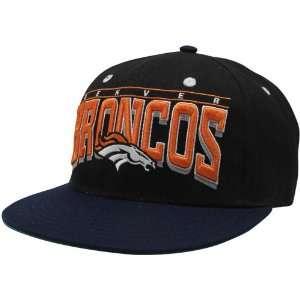 NFL Denver Broncos Mens Hardknock Snapback Hat   Black