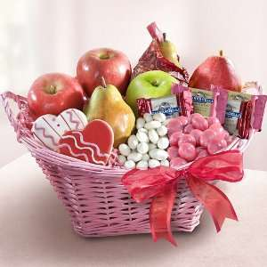 California Lovin Valentines Day Fruit Basket  Grocery