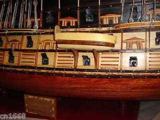 this is a le soleil royal high quality hand made wooden model ship 40
