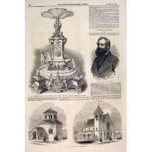 Muntz Birmingham Prince Albert Gilt Chapel Tower Hamlet