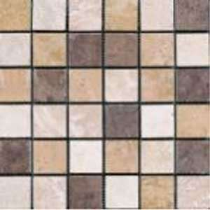 Azuvi Austin Mosaic 2 x 2 Multi Ceramic Tile: Home Improvement