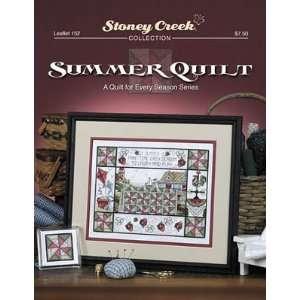 Summer Quilt   Cross Stitch Pattern: Arts, Crafts & Sewing