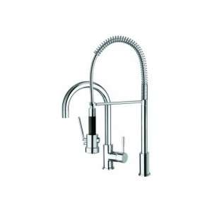 La Torre Kitchen 2 Hole Kitchen Faucet with Tall Spout and
