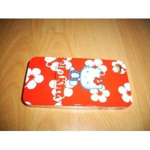 Hello Kitty Iphone 4 4G Case with Flower