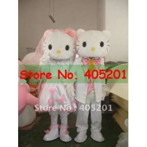 wedding hello kitty costume male and female style Toys
