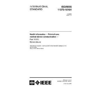 ISO/IEEE 11073 101012004, Health informatics   Point of