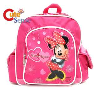 Disney Minnie Mouse School Backpack Bag 10 S Pink Love