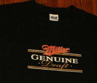 Miller High Life Beer Brewery T Shirt XL
