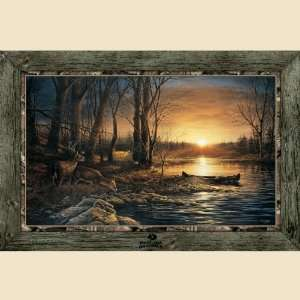Morning Glow Framed Indoor Wall Graphic