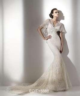 Slim Mermaid Lace Wedding Dress Bridal Gown 2011 Hot