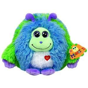 TY Monstaz Benny Plush Toy BLUE/GREEN Toys & Games
