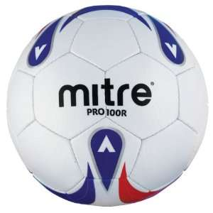Mitre Pro 100 R Training Ball (White/Red/Blue) Sports