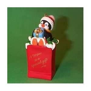 A Mom is a Special Gift Hallmark Keepsake Ornament 1996