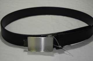 NWT Michael Kors Mens Black Dress Leather Belt   Retails $85   Free