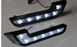 2X Car M.Benz style 6 LEDS Driving Daytime Running Day LED Light High