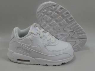Nike Air Max 90 White Shoes Toddler Baby Size 7