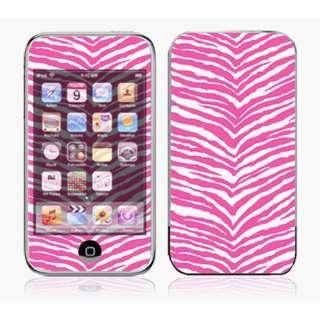 ~iTouch 1st Gen Skin Decal Sticker   Pink Zebra Skin