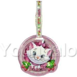 Disney Marie The Aristocat Travel Airplane Luggage Tag