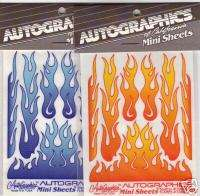 AutoGraphics #10869 BLUE Slot Car Flames