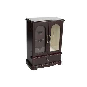 Mele Adele Upright Glass Door Jewelry Box