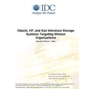 Hitachi, HP, and Sun Introduce Storage Systems Targeting