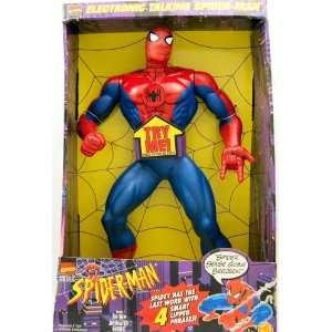 com Marvel Comics   Spider Man   Giant 16 Talking Figure   Animated