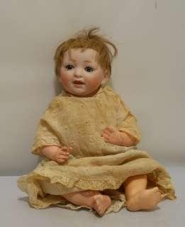 Antique Bisque Head Baby Doll JDK 211 German Original Wig Composition