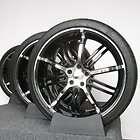 20 Kasino Alloy, Jack, Black/Chrome For Lincoln LS Wheels/Rims & New