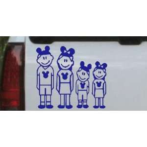 Blue 16in X 14.4in    Mickey Mouse Disney 2 Kids Stick Family Stick