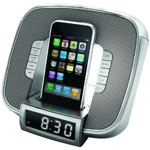 New JENSEN JIMS 182 IPOD DOCKING CLOCK RADIO WITH LED GLOW