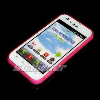 LG P970 Optimus Black TPU Silicone Case Cover + Screen Guard . HOT