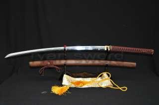 TOP HIGH QUALITY Clay Tempered Japanese Samurai Sword Katana Hualee