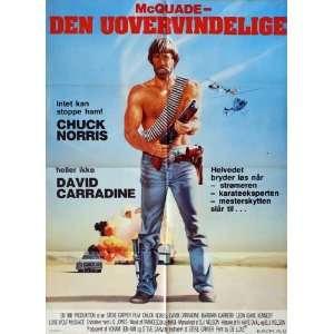 Lone Wolf McQuade Movie Poster (27 x 40 Inches   69cm x