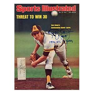 Randy Jones Autographed / Signed Sports Illustrated   July 12, 1976