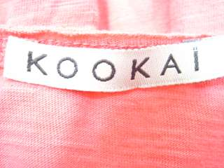 LOT 2 KOOKAI White Coral Short Sleeve Shirts Tops Sz 1