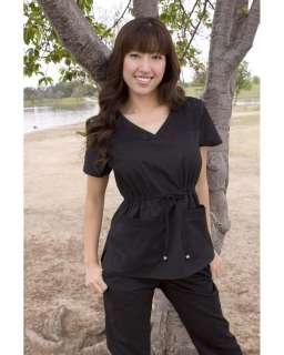 Koi Maggie Scrub Top Royal Blue White Black 2X 3X New