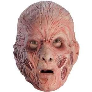 Freddy Krueger Foam Latex Adult Mask / Tan   One Size