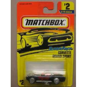 Matchbox The Widow Super Fast Corvette Grand Sport #2 of