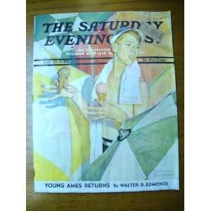 The Saturday Evening Post Magazine   July 13, 1940 Curtis