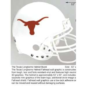 Wallpaper Fathead Fathead NFL & College Football Helmets texas