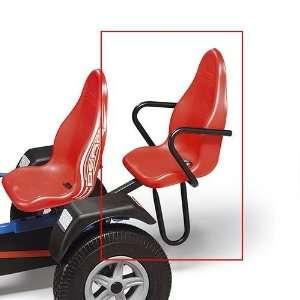 BERG Accessories   Deluxe Passenger Seat   Red