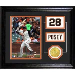 San Francisco Giants Buster Posey Player Pride Desktop Photo Mint by