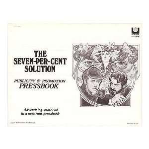 Seven Per Cent Solution Original Movie Poster, 11 x 9 (1976)