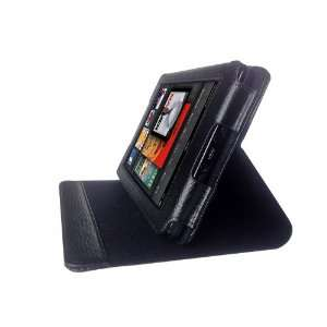 M2U Genuine Leather Stands Cover Case for Kindle Fire Tablet 7 inch