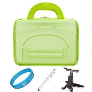 Green Cube Series Shell Hard Carrying case for Samsung Galaxy Tab 8.9